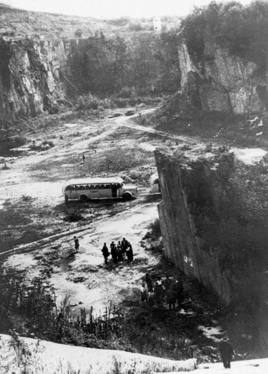 Steinbruch des KZ Mauthausen