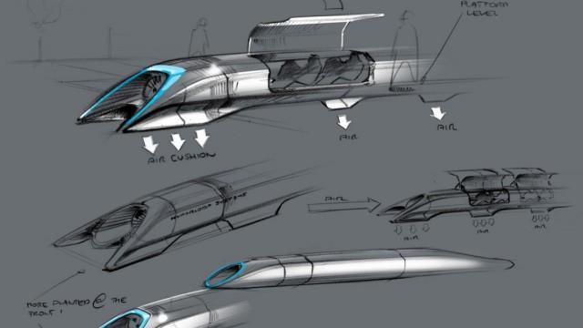 Hyperloop, Elon Musk