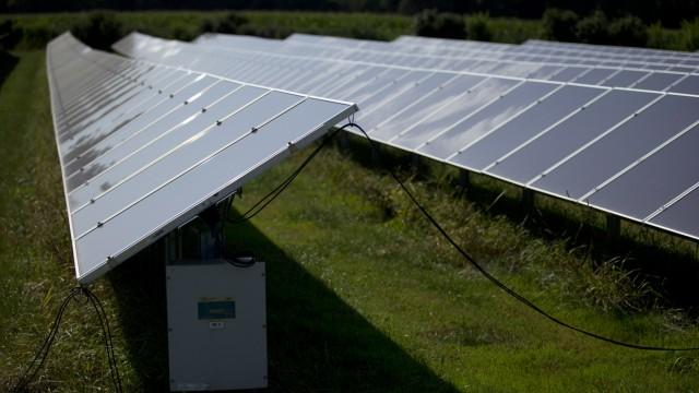 Biburg: Serie ENERGIEWENDE - Freiflaechen-Photovoltaik