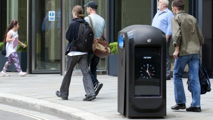 London verbietet Hightech-Mülleimer