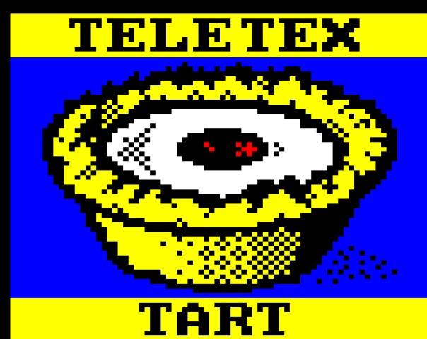Kunst Videotext Teletext