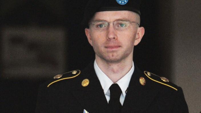 Wikileaks-Informant: Wikileaks-Whistleblower Bradley Manning im Juli 2013