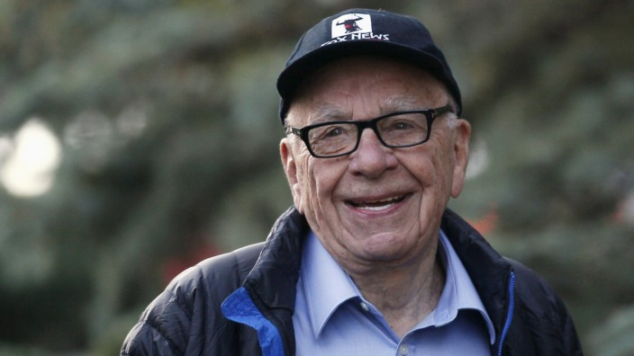File photo of Murdoch, News Corp. and 21st Century Fox CEO, at annual Allen and Co. conference at Sun Valley