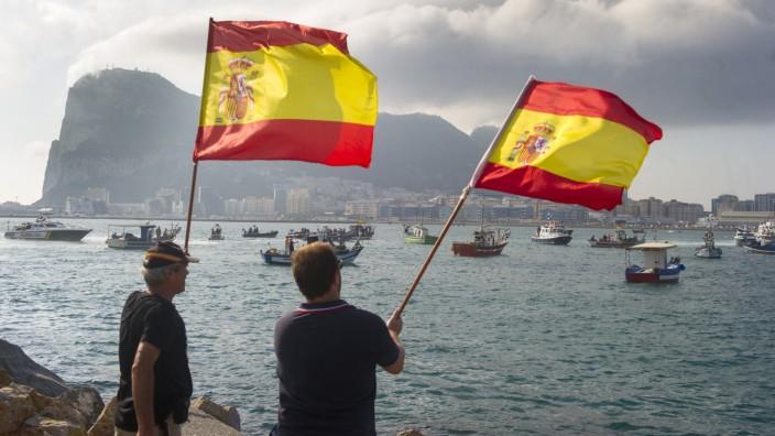 Spanien Gibraltar Riff Streit