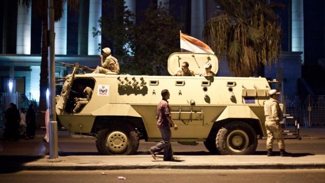 Panzer in Kairo - gebaut mit deutscher Hilfe