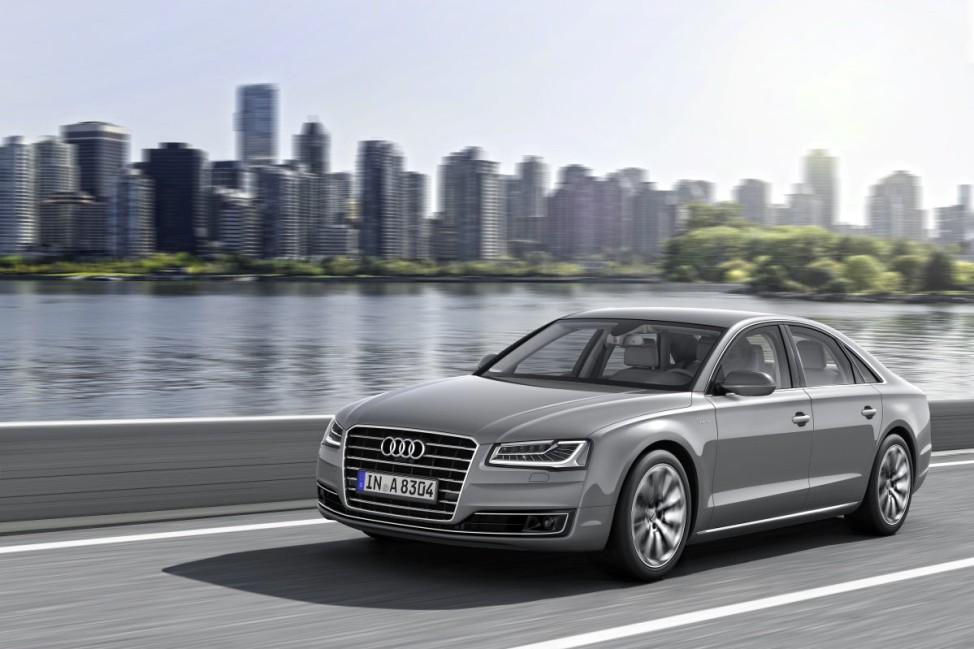 Audi A8 Facelift, Audi A8, Audi, Luxuslimousine, Mercedes S-Klasse, BMW 7er
