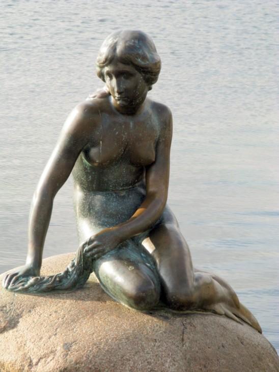 Kopenhagener Meerjungfrau  Kopenhagen Dänemark