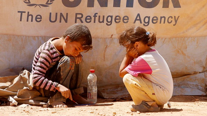 Syrian war displaces 1 million children, UN says