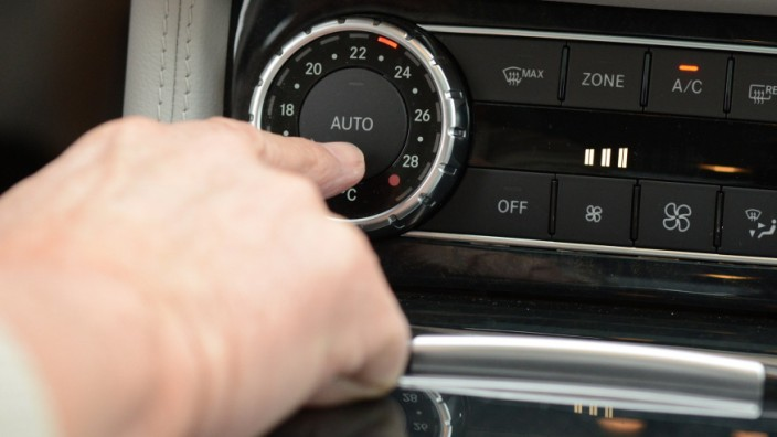 Klimanlage, Mercedes Benz, CLS Coupe
