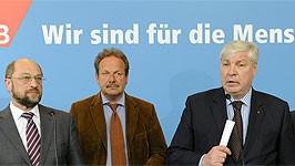 SPD und Gewerkschaften; dpa