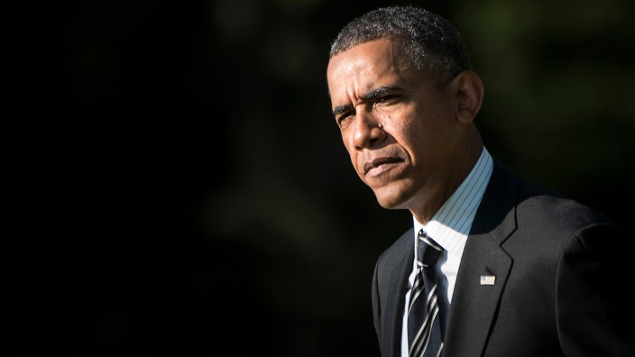 Barack Obama Syrien