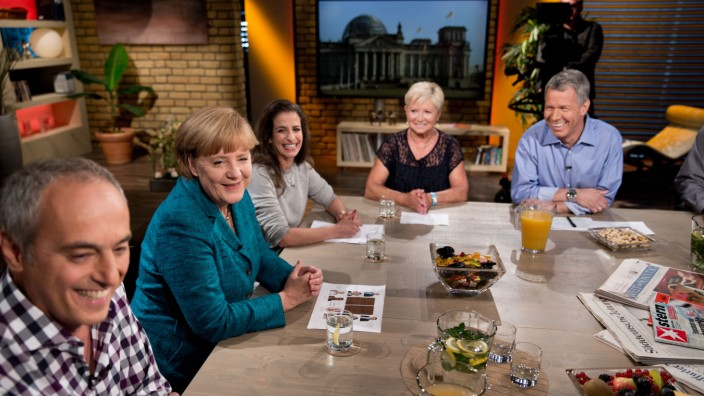 'Meine Wahl - an einem Tisch mit Angela Merkel' RTL