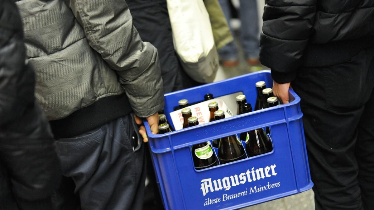 Münchner Erfindung: Das Bier-Tragerltragerl fürs Radl