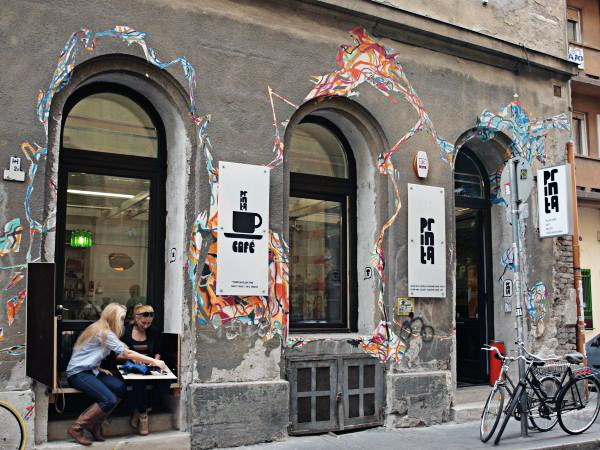 Budapest Städtereise Städtetipps Spotted by Locals Budapest Ungarn Printa Shop Café