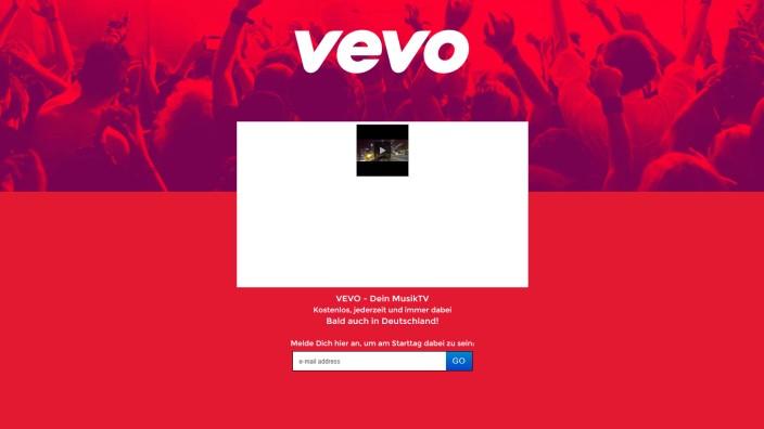 Musikvideo-Dienst Vevo
