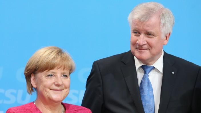 CDU And CSU Present Election Policy Program