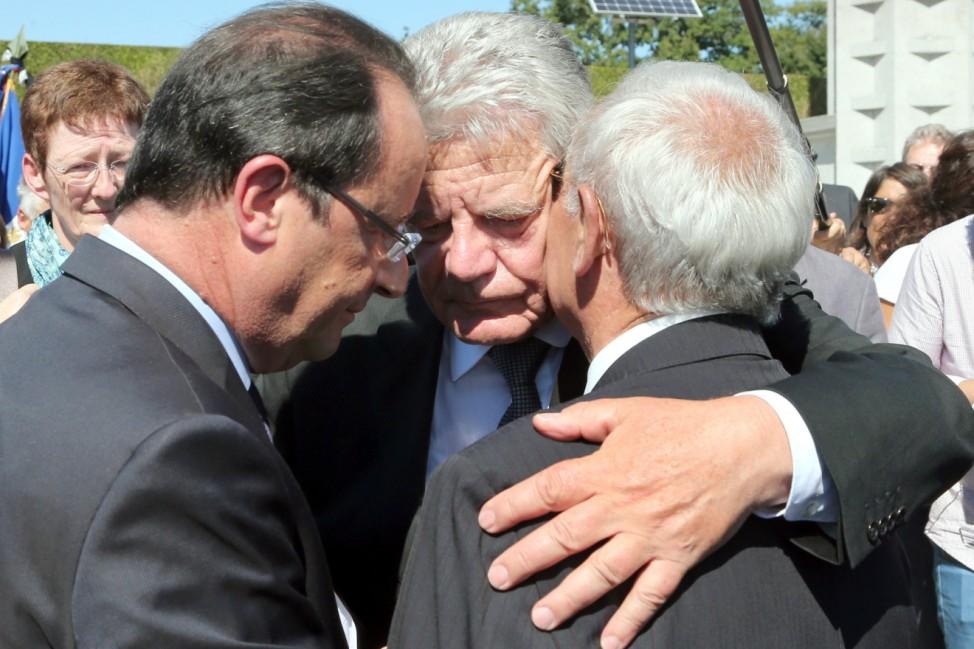 Gauck auf Staatsbesuch in Frankreich
