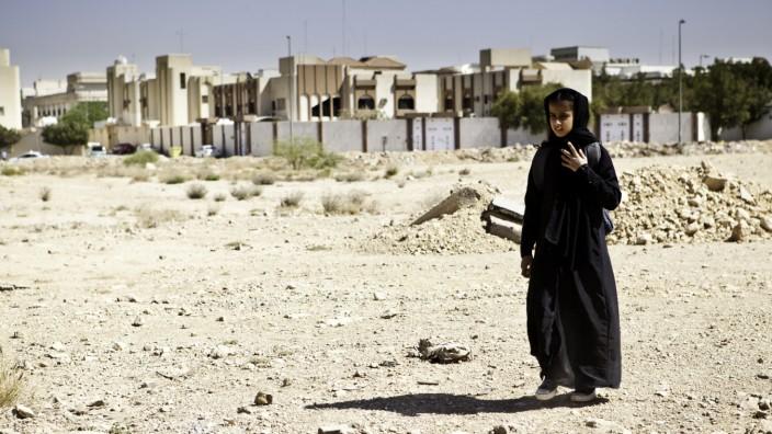 """Waad Mohammed in """"Das Mädchen Wadjda"""" Kino"""