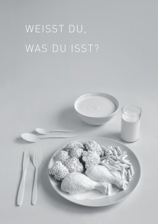 """Plakatwettberwerb Studentenwerk - """"Was isst du?"""""""