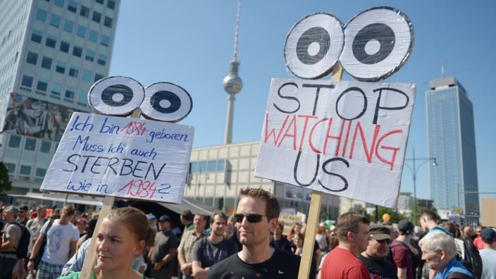 Demonstration 'Freiheit statt Angst'
