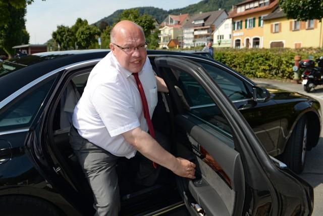 Bundesumweltminister Peter Altmaier in Sipplingen