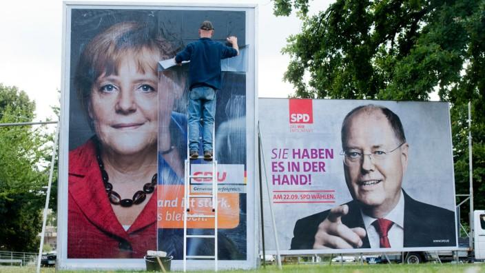 CDU-Wahlplakate