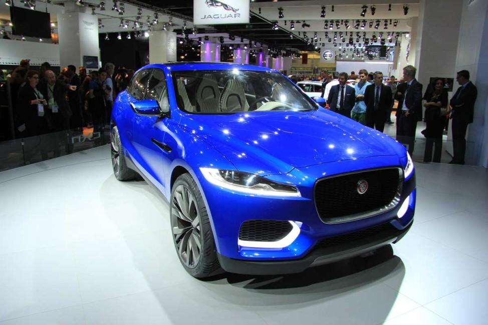 Jaguar, IAA, IAA 2013, SUV