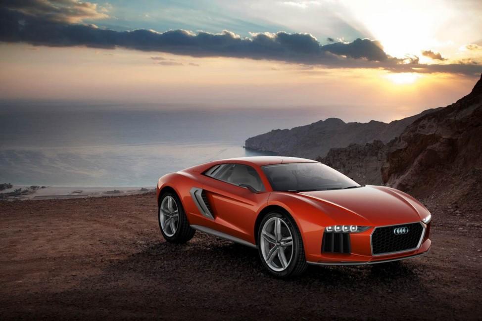 Studie Nanuk: Aggressives Crossover-Modell von Audi