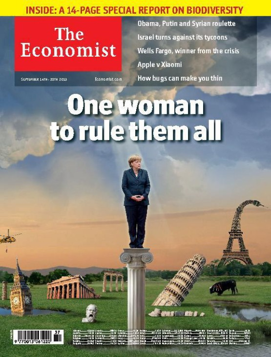 Angela Merkel Economist Cover