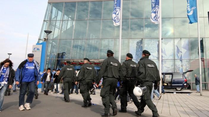 Polizei zieht sich aus Schalker Arena weitgehend zurück
