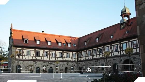 Internat als Familienersatz: Zweites Zuhause von knapp 100 Schülern: das Schlossinternat in Michelbach an der Bilz.
