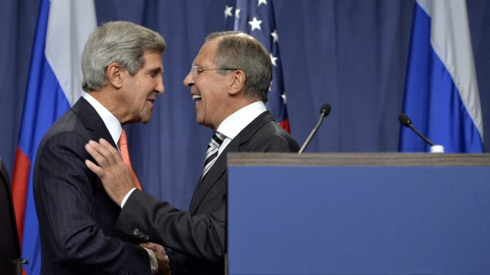 US and Russia agree Syria arms deal