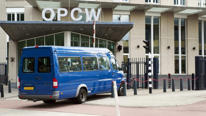 Headquarters der Organisation for the Prohibition of Chemical Weapons (OPCW)