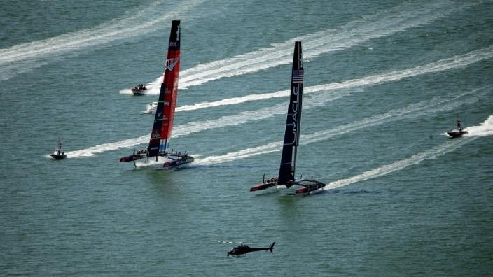 America's Cup - Finals Races 6 & 7