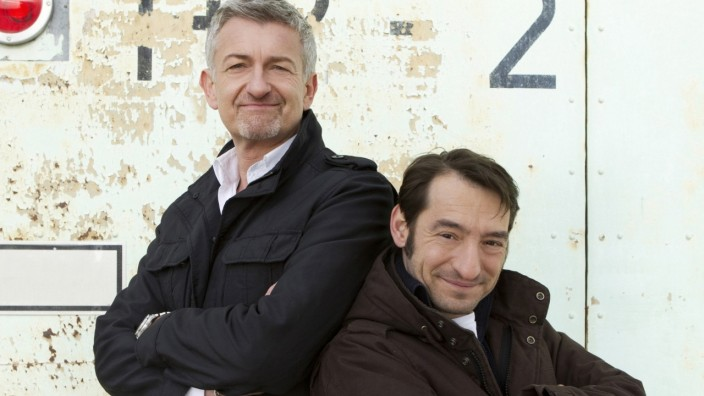 Tatort Berlin Boris Aljinovic und Dominic Raacke