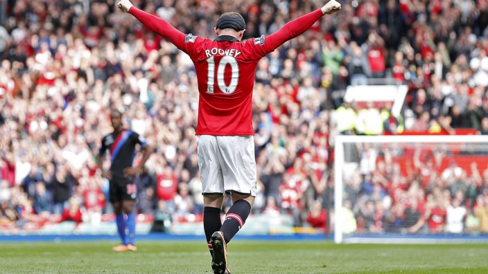 Manchester United vs Crystal Palace Wayne Rooney