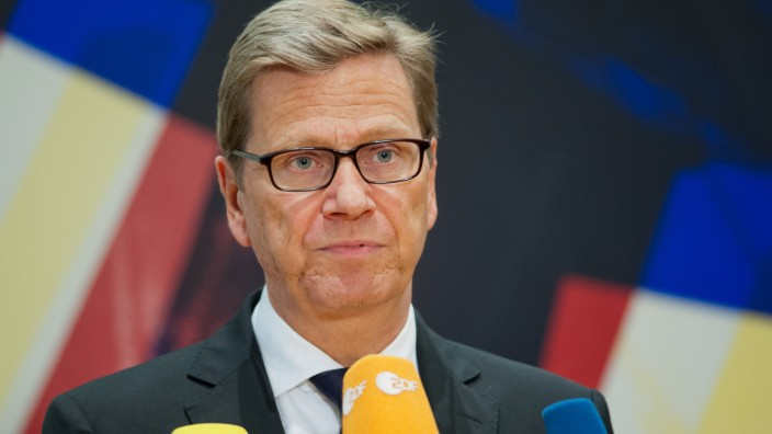 Guido Westerwelle Syrien Giftgas