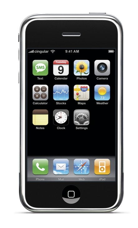 Handout photo of Apple's new iPhone