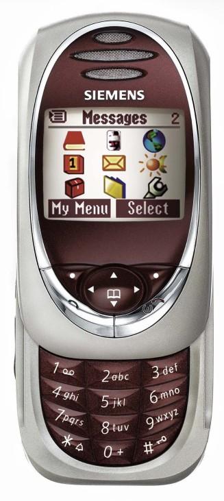 Mobiltelefon SL55 von Siemens, 2003