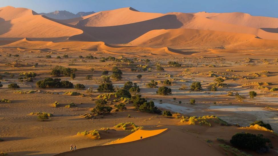 Leserfoto Panorama Namibia Sossusvlei Afrika
