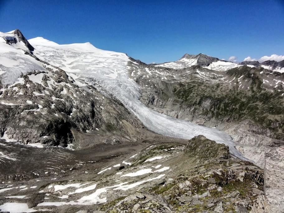 Leserfoto Panorama Österreich Großvenediger Kleinvenediger Venedigergruppe