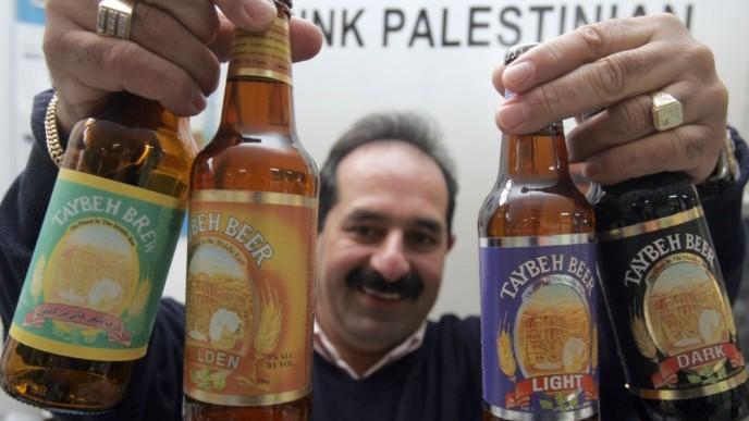 Nadim C. Khoury, Chef der einzigen palästinensischen Bierbrauerei Taybeh Brewing Company