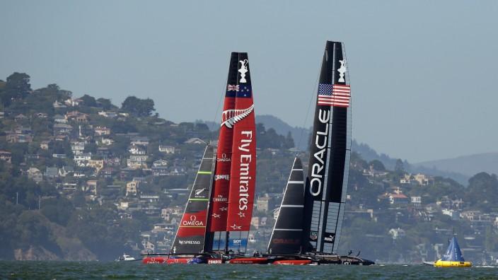 America's Cup - Finals Races 12 & 13