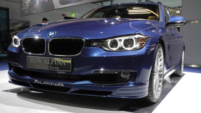 Alpina, BMW, Wein, IAA