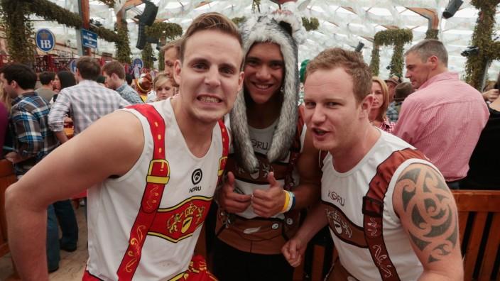 Oktoberfest 2013 - Opening Day