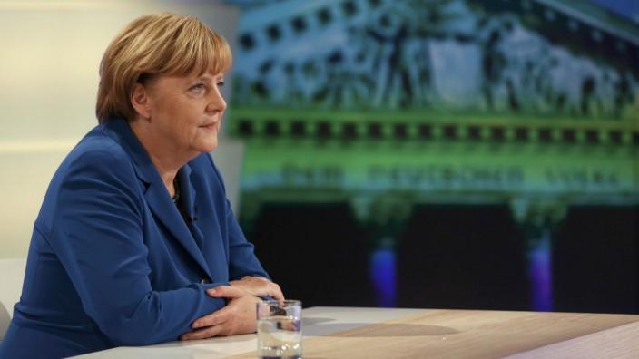 Angela Merkel, CDU, Bundestagswahl 2013