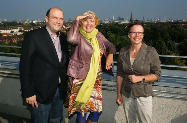 Claudia Roth besucht Energiebunker