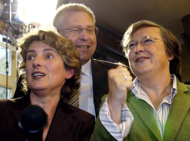 Britta Hasselmann, Michael Vesper, Bärbel Höhn, 2004