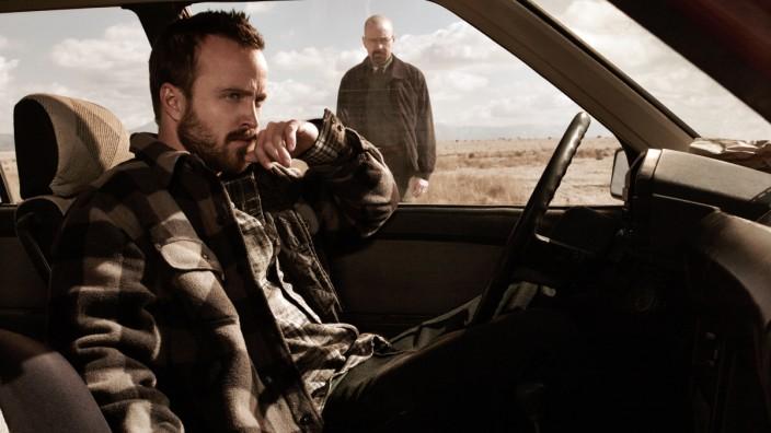 Bryan Cranston und Aaron Paul in Breaking Bad