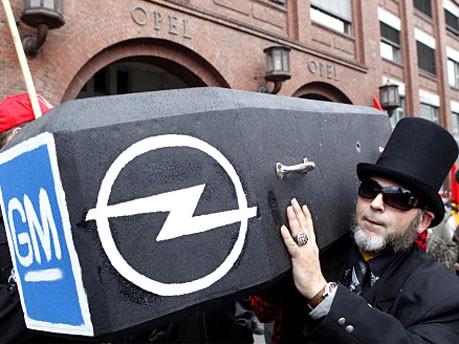 Opel, Demo, Foto: AP